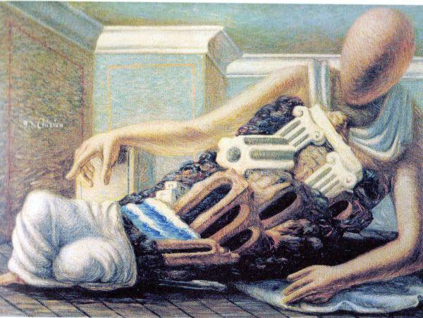 Questa immagine ha l'attributo alt vuoto; il nome del file è De-Chirico-I-5-Archeologo.jpg