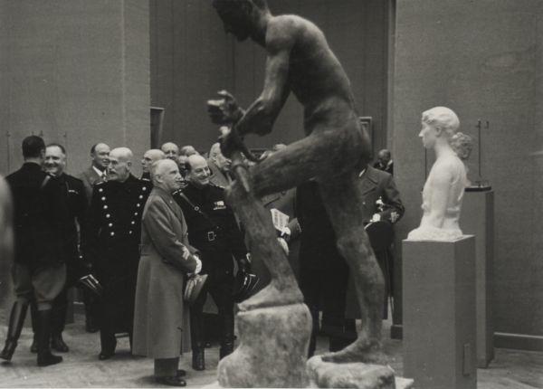 Questa immagine ha l'attributo alt vuoto; il nome del file è 03-III-Quadriennale-1939-Inaugurazione.jpg