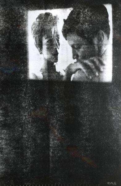 Questa immagine ha l'attributo alt vuoto; il nome del file è IX-Quadriennale-1964-65-Mimmo-Rotella-Lo-schermo.jpg