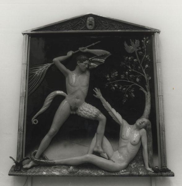 Questa immagine ha l'attributo alt vuoto; il nome del file è XIII-Quadriennale-1999-Luigi-Ontani-CainAbele-1997-1999-1.jpg