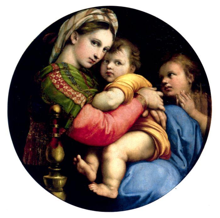Questa immagine ha l'attributo alt vuoto; il nome del file è Raffaello-38-Madonna-Seggiola-Tomba386-print-2.jpg